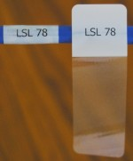 Cable Labels LSL-78 ( 21 Labels per Sheet ) - Product Image