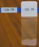 Cable Labels LSL-78 ( 21 Labels per Sheet ) - Product Image